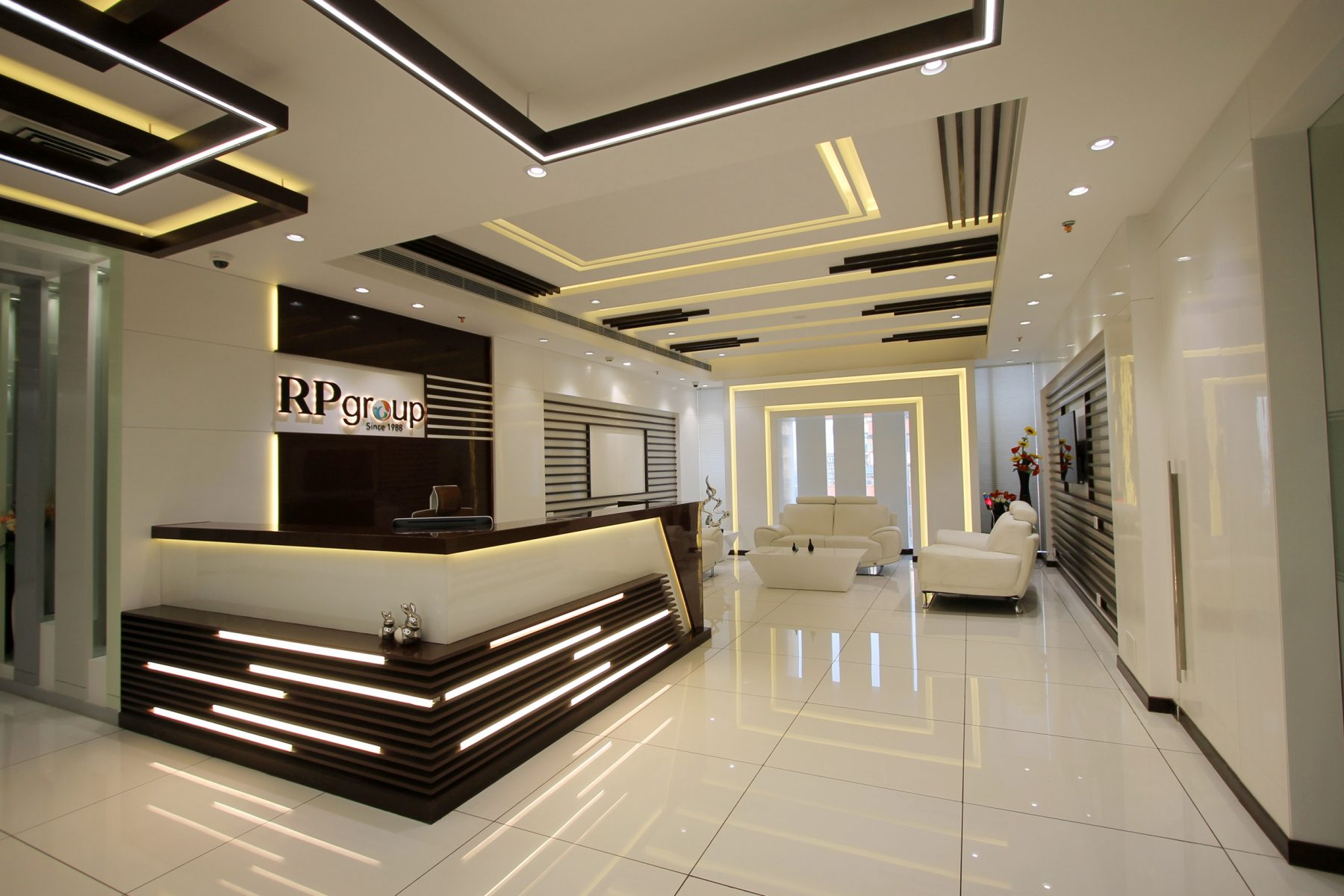 RP Group office reception