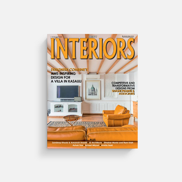 Society Interiors August 2018 covers Parnagrah by Conarch Architects