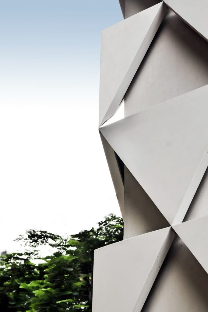 Aakash Institute by Conarch Architects facade