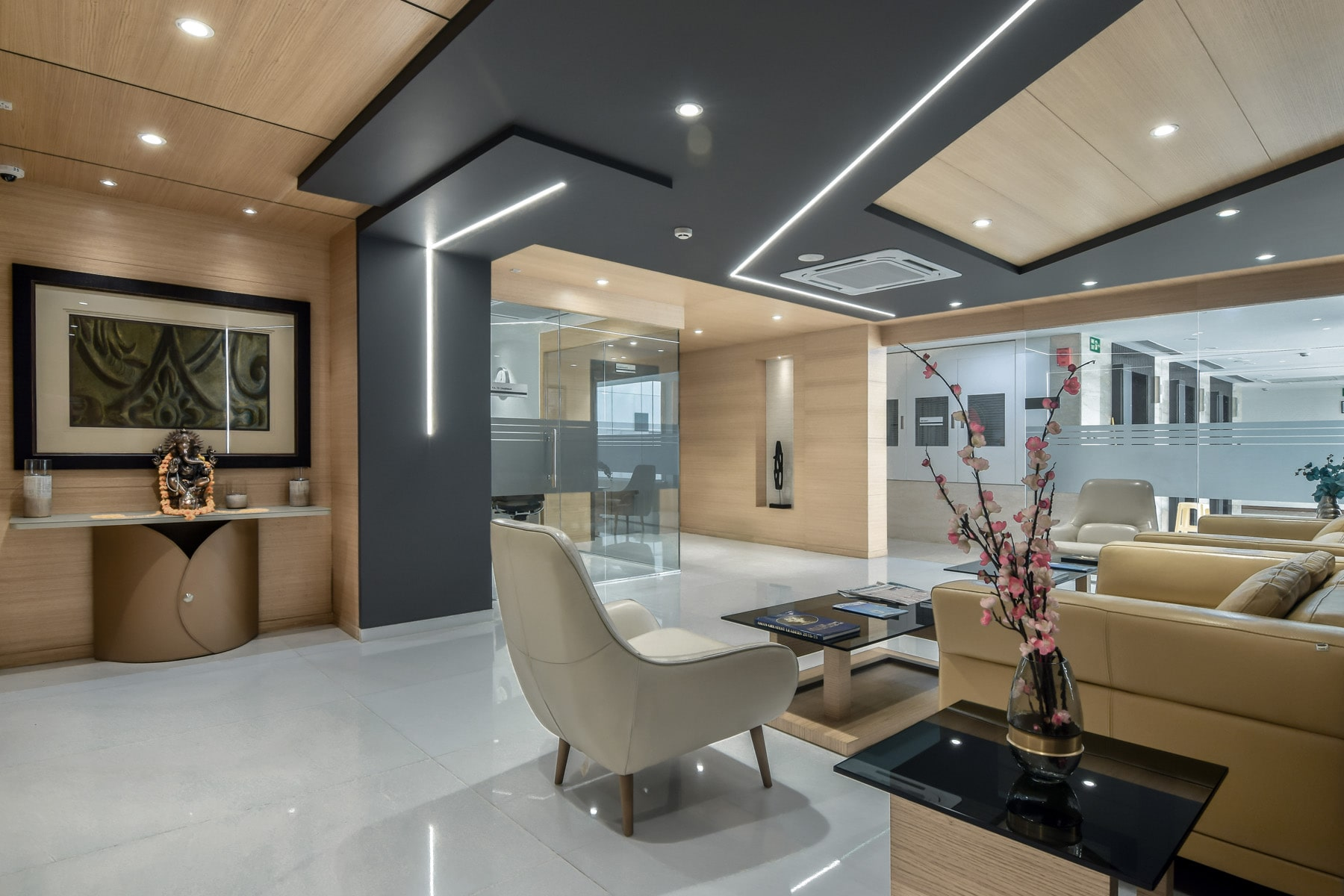 Director's floor of Aakash Institute design by Conarch Architects