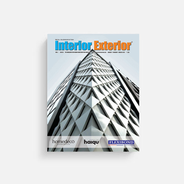 Interior Exterior March 2020 features JK House by Conarch Architects on the cover page